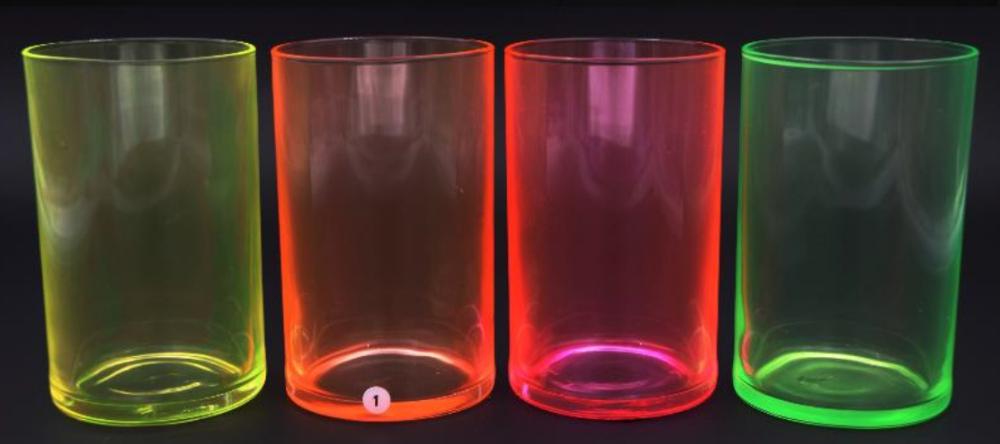 Kolory neonowe transparentne